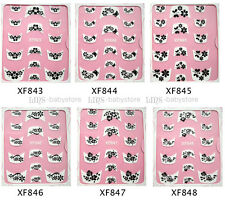 Nail Art stickers 3D French Style Rhinestone Buy 2 Get 1 Free #XF825-848