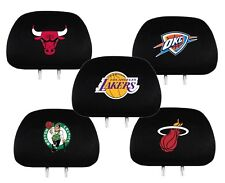 NBA Basketball Auto Car Head Rest Covers - Pick Team