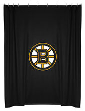 Boston Bruins COMBO DEAL Shower Curtain & Window Valance Sets - See Options!