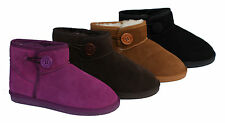 Bailey Button Short Mini Ladies Fashion UGG Boots 100% Australian Sheepskin