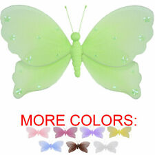 Hanging Butterflies Decorate Ceiling Wall Girl Room Baby Nursery Butterfly Decor