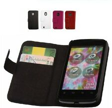 New Genuine Thin Side Flip Leather Cover Case for ZTE Blade 3 Blade III V889m