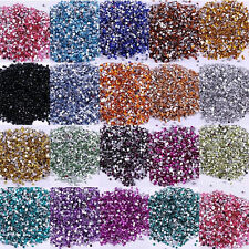 New 2000pcs Crystal Flatback 3mm Rhinestones Beads Nail Art/Craft DIY  Wholesale