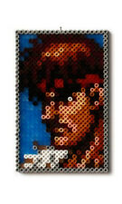 STREET FIGHTER VIDEO GAME PENDANT NINTENDO SNES SEGA RYU KEN BEAD FIGURE PERLER