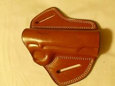 COLT 1911 SPEED-BUTTERFLY BELT HOLSTER -  Black/Brown