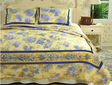 Patchwork - Quilted Bedspread - Provencal - Quality - Single Double and King