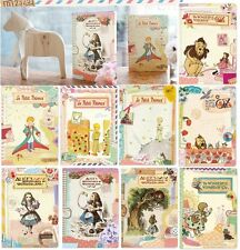Korean alice in wonderland Le Petit Prince Winzard of OZ line notebook set