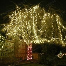 warm White 164FT 50M 500LED String fairy Light Decoration Christmas Xmas party