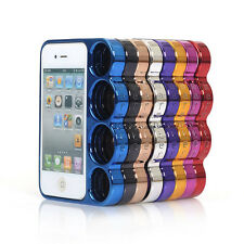 SPECIAL ELECTROPLATING CHROME KNUCKLE CASE FOR APPLE IPHONE 4 4S & IPHONE 5 UK