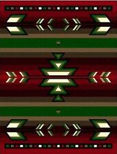"5' X 8"" AREA RUG SOUTHWESTERN 1 DESIGN APACHE  INDIAN THEME"