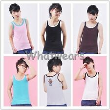 SHO New Les Lesbian Undershirt GL Tomboy Chest Binder Slim Fit Vest Tops J0024