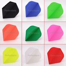5 SETS FABRIC RIPSTOP CLOTH DART FLIGHTS NYLON - Choose Colour - Standard Shape