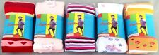 New Wholesale Lot 6 Pairs - Girls Fashion Winter Tights - In Prints (# E00044)