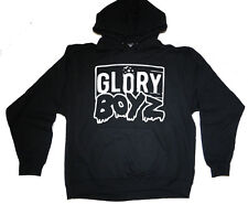 GLORY BOYZ WHITE/BLACK HOODIE SWEATER GBE Chief Keef Sosa Reese Bang Bang 300