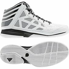 ADIDAS Crazy Shadow MEN'S WHITE/BLK/SILVER SHOES SIZE 9, G56452