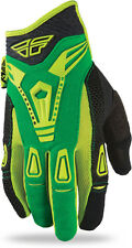 CLEARANCE! NEW 2013 Fly Racing Evolution GLOVES Green-Black Adult MX BMX MOTO