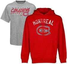 Montreal Canadiens NHL Licensed Majestic Pullover Hoodie & Tee Shirt Big Sizes