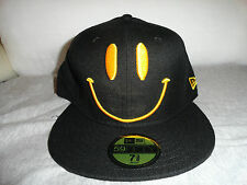 Brand New era BIG BANG Tae Yang Smiley Face Love & Peace Cap Hat  black & yellow
