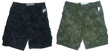 Mens AEROPOSTALE Lightweight Printed Cargo Shorts Longer Length NWT #0866