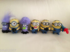 Mcdonalds Despicable Me 2 Minion Toys Brand New Sealed Multi Listing **LOOK**