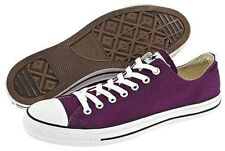 Converse Chuck Taylor Low Tops Purple Passion All Sizes Mens Sneakers Shoes