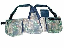 "New Falconry Camo Vest, Hawking, Hunting, Jungle, Wild Vest (""S"" & ""M"" Sizes)"