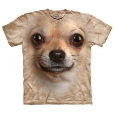 Chihuahua Face Child  Animals Unisex T Shirt The Mountain