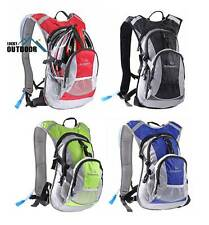 Bicycle Hydration Pack Backpack with Water Bladder Bag Bike Cycling Hiking Climb