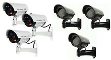 3x Outdoor Dummy Fake LED Flashing Security Camera CCTV Surveillance Imitatione