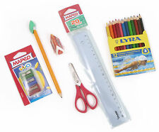 Childrens Writing and Colouring Homework Kit: Lyra Crayons and Maped Stationery