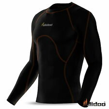 Mens Compression Base layers full sleeve shirt running tight top thermal sports