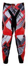 MSR Racing Max Air Vented MX Offroad ATV Riding Pants Red Black White Sale Price