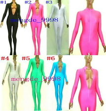 SEXY BODY SUITS LYCRA SPANDEX ZENTAI CATSUIT COSTUMES WITH 6 COLOR #X468