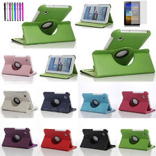 360 Rotating Leather Stand Case Cover For Samsung Galaxy Tab 2 7.0 P3100 P3110