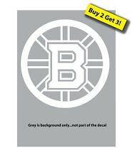 Boston Bruins Hockey NHL Mass Decal/Sticker Buy 2 Get 3 FREE SHIPPING