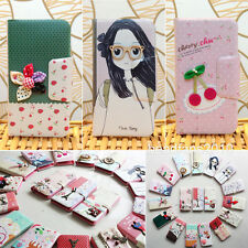 Korea Style PU Leather Wallet Flip Case Cover for Samsung Galaxy SIV S4 i9500