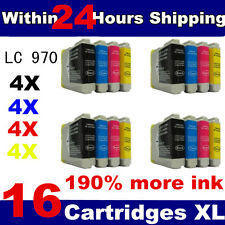 16 Compatible Ink Cartridges for brother series printer