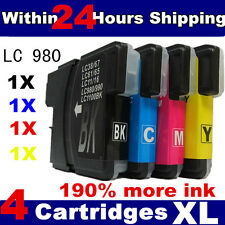 1 Set - Brother LC61 LC980 LC990 LC1100 Comaptible Ink
