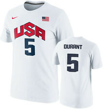 Nike TEAM USA Basketball  2012 Kevin Durant # 5 Jersey T-shirt Olympic