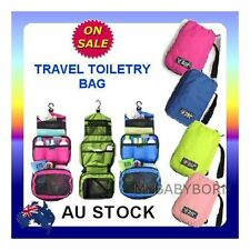 Travel Cosmetic Makeup Toiletry Pruse Wash Organizer Storage Hanging Bag