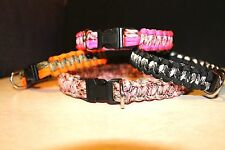 550 PARACORD DOG COLLARS