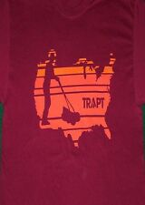 New: TRAPT - Tour Mowing America Logo (Size: Large) Concert T-SHIRT