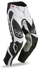 CLEARANCE SALE! NEW Fly Racing Evolution Rev PANTS White-Black Motocross Gear