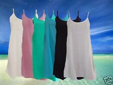 Ladies,100% Cotton, Short Slip. For under Kaftans, Resort Wear and  Dresses.