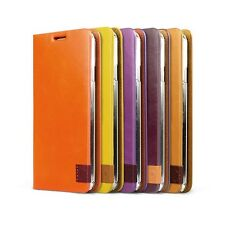 ZENUS Signature Tag Leather Diary Cover Case for Samsung Galaxy Note 3 III N9000
