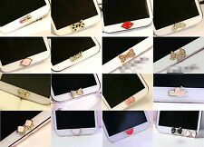 3D Rhinestone Home Button Sticker for Samsung Galaxy,Note,ect (buy 2 get 1 free)