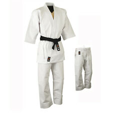 Playwell Karate 16oz Heavyweight Uniform White Adults Students Gi Martial Arts
