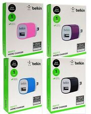 New Belkin MIXIT Home Charger Universal 5 Watt/1 Amp  OEM  MultiColors Available