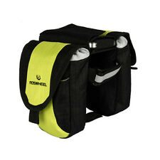 Bike Bicycle Front Tube Two Side Pack Saddle Polyester Bag with Phone Pouch