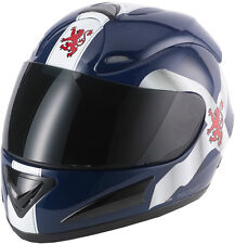 V-CAN V100 SCOTLAND MOTORCYCLE MOTORBIKE HELMET SCOTS SCOTTISH
